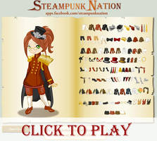 Steampunk Dress Up by mree