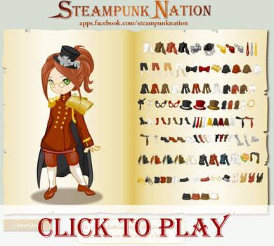 Steampunk Dress Up by mree
