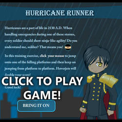 Flash Game - Hurricane Runner