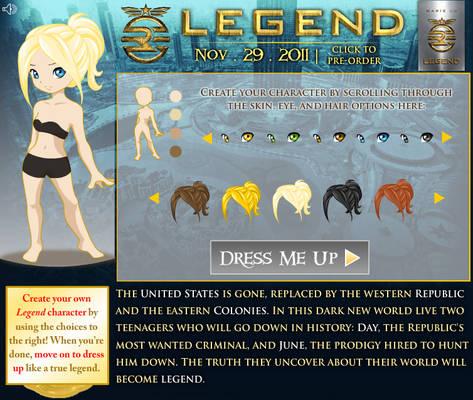 Legend Dress-Up
