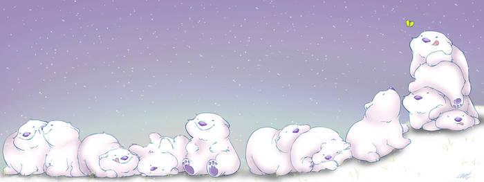Roly Poly Polar Bears