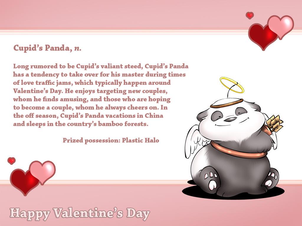 Cupid's Panda by mree