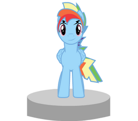 Rainbow Blitz Puppet Rig by Stopped245
