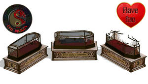 MMD Glass Coffin DL
