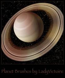 Planet Brushes by LadyVictoire