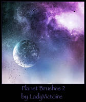 Planet Brushes 2 by LadyVictoire
