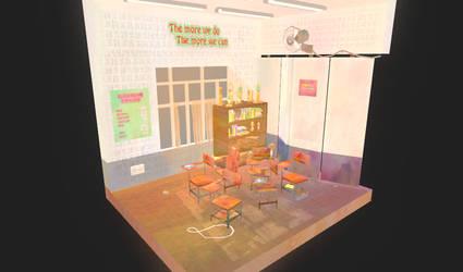 Mini Classroom by OnionBlaze