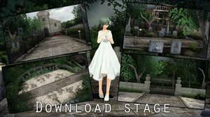 MMD Stage Mansion DL