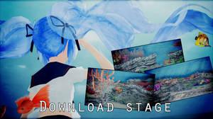 MMD Stage under water DL
