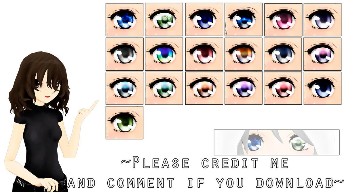 MMD Eyes texture [2] DL by ElviraMoa
