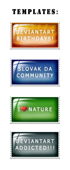 Stamp templates by luckylooke