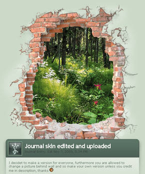 Journal skin natural version