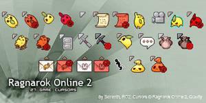Ragnarok Online 2 Cursors