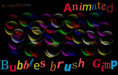 Colored bubbles brush by Brianditalistina by Brianditalistina