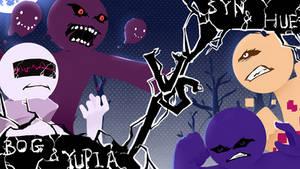 Dojo Duel #1 - Yupia and Bog vs Syn and Hue by X-tremes