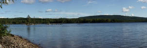 Lake panorama XXL by duncan-blues