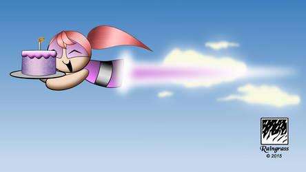 Flying Behania (Animated)