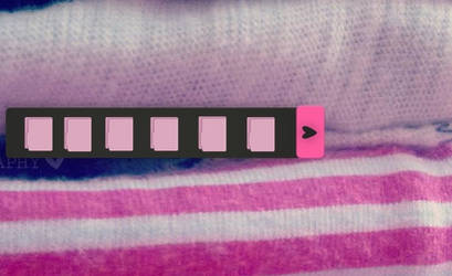 Barrita Pink Dark Para Xwidget by LuuCreativeColors