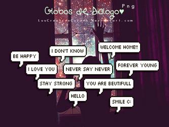 Globos de Dialogo by LuuCreativeColors