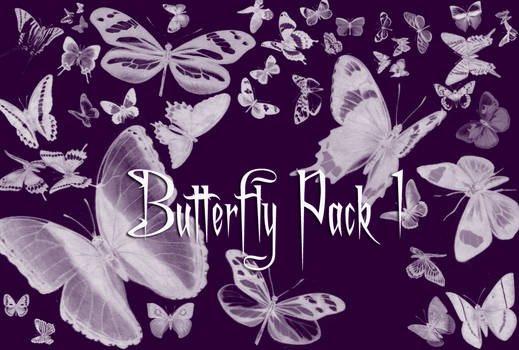 Butterfly Brushes Pack 1