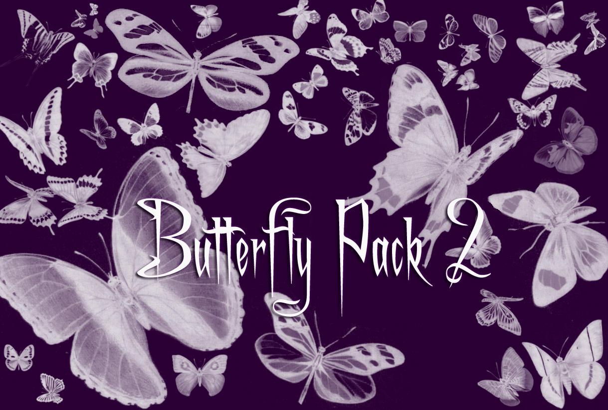 Butterfly Brushes Pack 2 by Gothic11Shadow