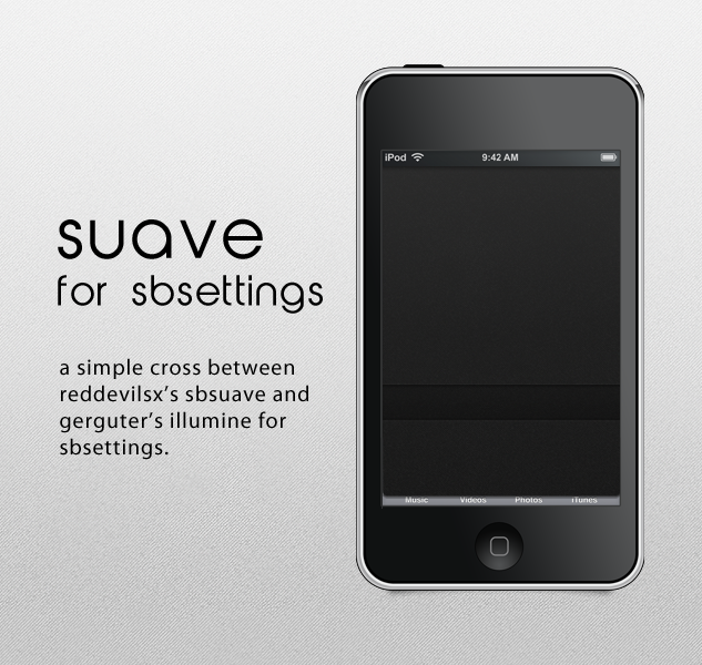 Suave For SBsettings