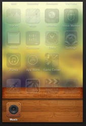 Wooden Dock for iPhone, iPod