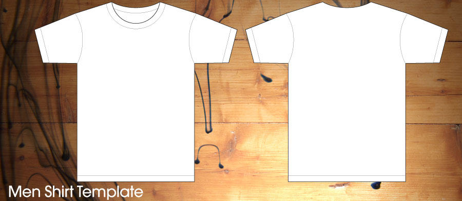 men shirt template by Leyaexcolosi