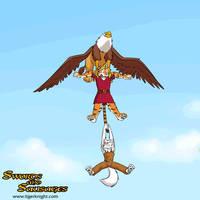 Up, up, and a-waaaaaahhhh! by tigerknightcomics
