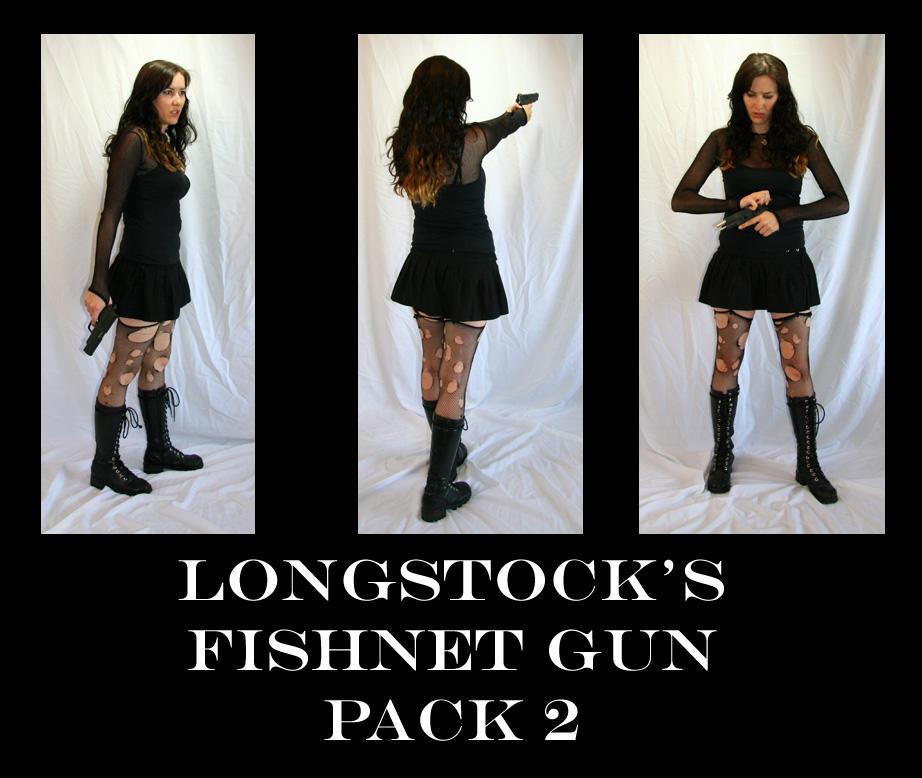 Fishnet Gun Pack 2 by LongStock
