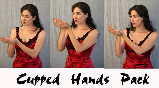 cupped hands pack