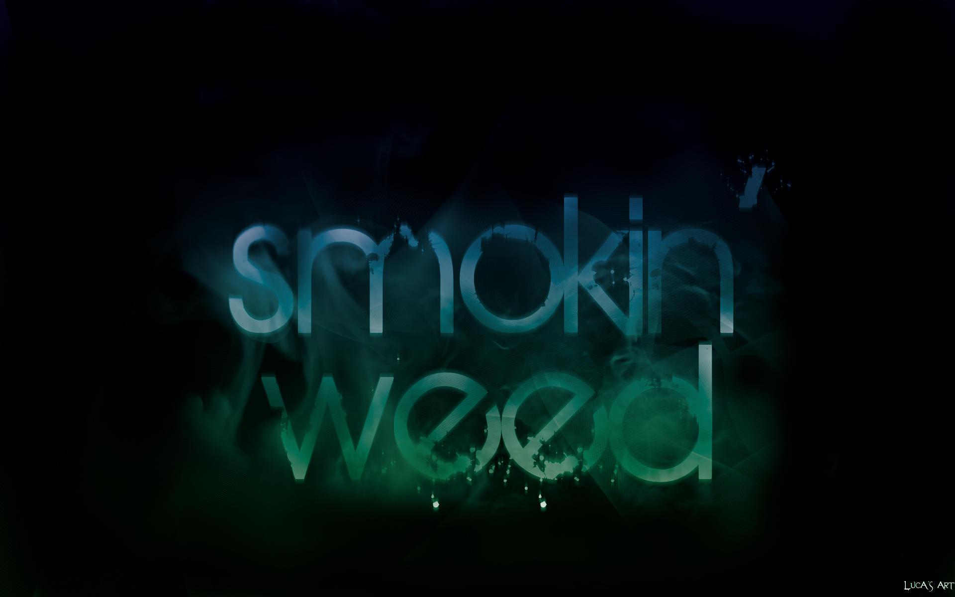 Smoking weed wallpaper