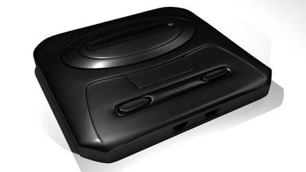 Sega Genesis (Mega Drive) Model