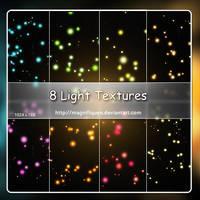 8 Large Light Textures - Pack I by MagnifiqueN