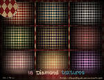 16 Large Diamond Textures Pack