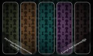 5 Large Keys Textures/BGs