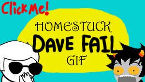 Homestuck Dave Fail GIF