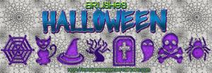 Halloween brushes by: roosabieeber