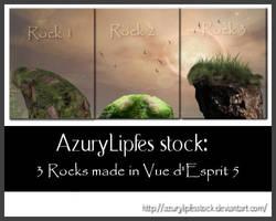Fantasy Rocks made in vue