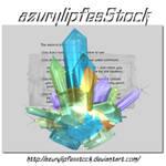 3D object - cristals