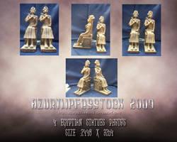 2009-Egyptian statue