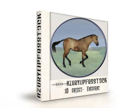 3D object- unicorn2