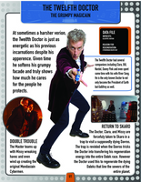 Doctor Who Encyclopedia Update #12 by matthna