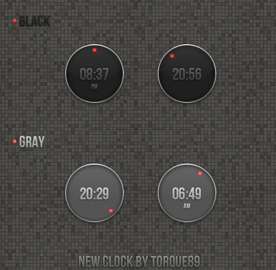 New Clock by torque89