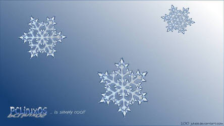 Pclinuxos snowflake by juhele