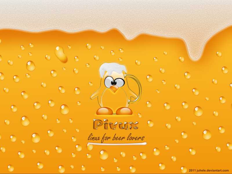 Pivux - linux for beer lovers by juhele