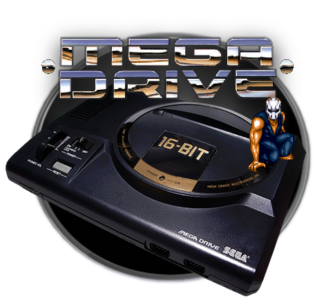 Mega Drive Icon - PNG+XCF