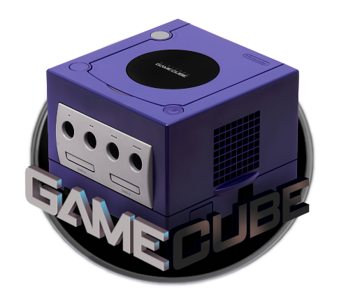 GameCube Icon - PNG+XCF by Anarkhya