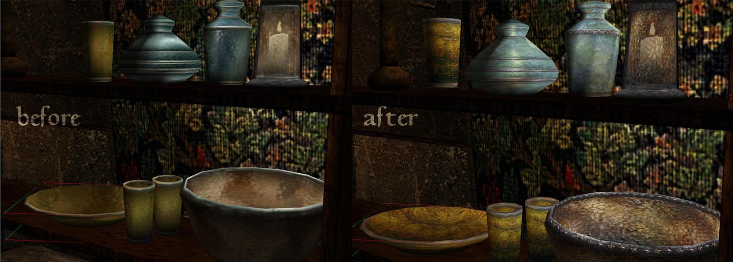 Morrowind Mod: Long Live The Glassware by Anarkhya