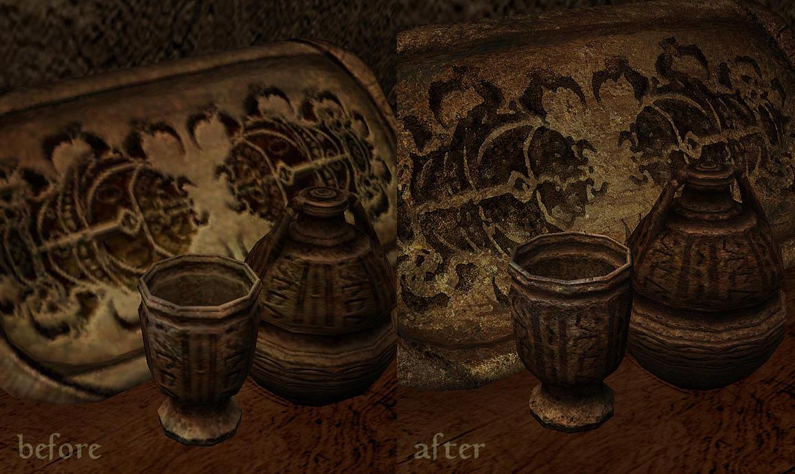 Morrowind Mod: Long Live The Limeware - Retexture by Anarkhya